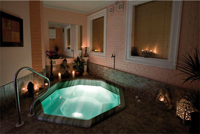 Knowle Grange Health Spa Jacuzzi